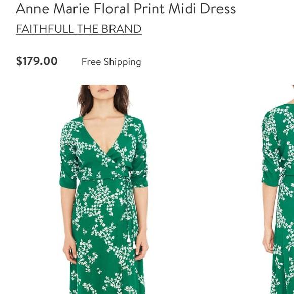 ef04044f8181 Faithfull the Brand Dresses | Midi Anne Marie Dress | Poshmark